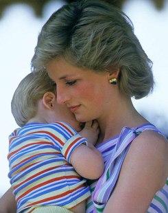 princess diana and son